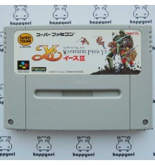 Ys III - Wanderers from Ys (loose) Super Famicom