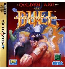 Golden Axe Duel Sega Saturn