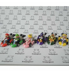 Mario Kart set of 6 small figures