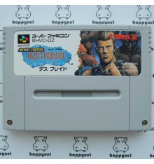 Mutant Fighters Death Brade (loose) Super Famicom
