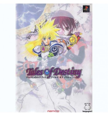 Tales Of Destiny Namco Official Guide Book
