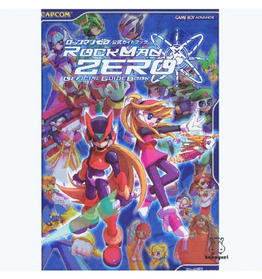 Rockman Zero Official Guide Book
