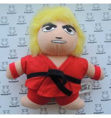 Street Fighter 2 Ken fluffy toy
