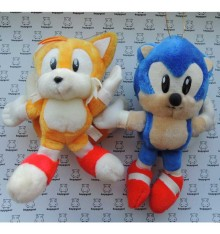 Sonic & Tails Vintage floffy Toy