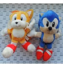 Sonic & Tails Vintage peluche