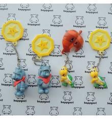 Mario lot de 4 portes clefs
