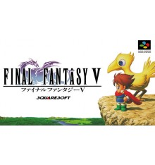 Final fantasy V Super Famicom