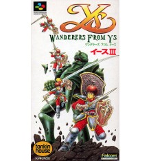 Ys III Wanderers from Ys Super Famicom