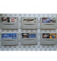 Lot pas cher 6 jeux F1 Super Famicom