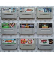 Lot pas cher 9 jeux baseball Super Famicom