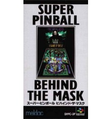 Super Pinball Behind the Mask Super Famicom