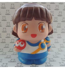 Puyo Puyo Piggy bank figure