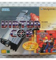 Virtua Cop + gun Sega Saturn