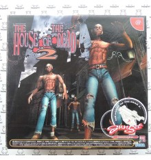 The house of the dead 2 + gun Dreamcast