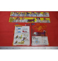 Fatal Fury Wild Ambition Arcade flyers & stickers