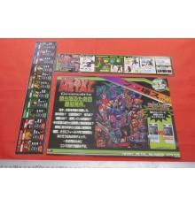Heavy Metal Arcade flyers & stickers