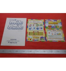 Mile Smile Arcade flyers & stickers