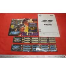 SNC vs Capcom Chaos Arcade flyers & stickers