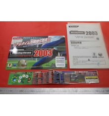 Winning Eleven 2003 Arcade flyers & stickers