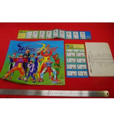 Arcade flyers & stickers