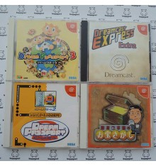 Lot de 4 jeux Dreamcast