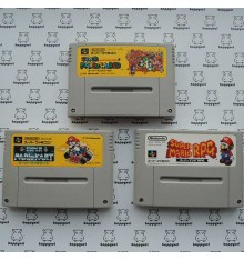 Mario Lot pas cher 3 jeux Super Famicom