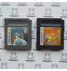 Pocket Monster Silver and Gold (loose) Game boy Color
