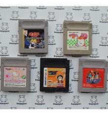 Lot de 5 jeux Game boy (loose)