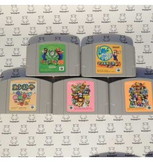 Lot de 5 jeux Nintendo 64 (loose)  Ref1