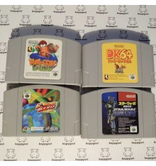 Lot de 4 jeux Nintendo 64 (loose) Ref1