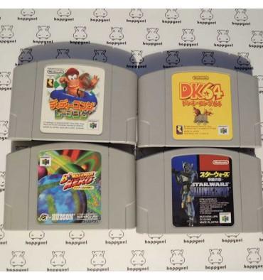 Set of 4 games (loose) Nintendo 64