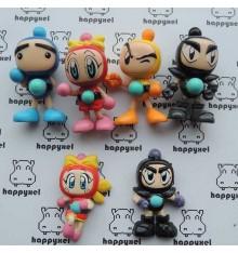 Bomberman 6 petites figurines