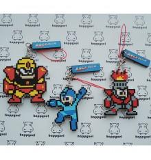 Rockman /megaman Set of 3 Keyholders