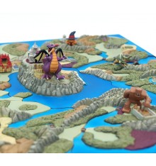 Dragon Quest 25th Anniversary Map Diorama Collection, Lot complet de 9