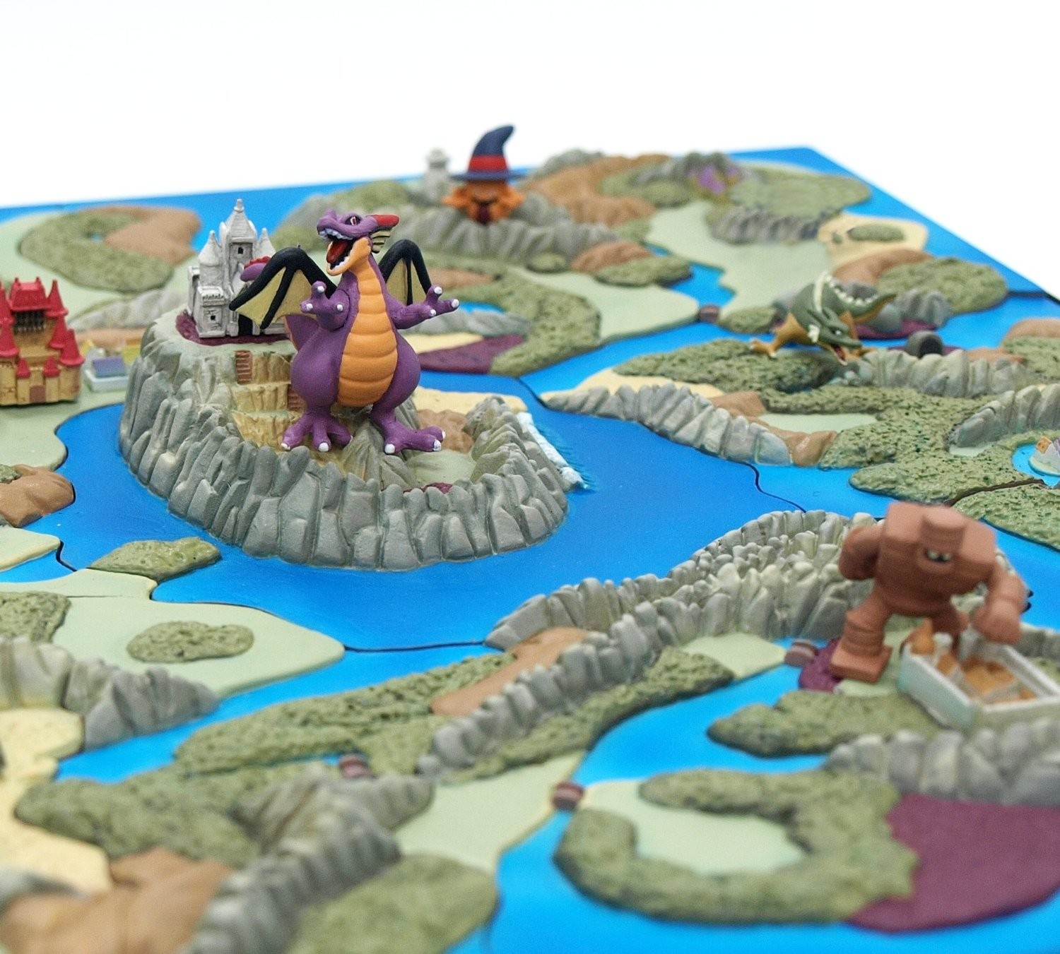 dragon quest 25th anniversary map diorama collection