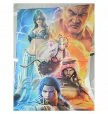 Tekken 7 poster publicitaire en tissu