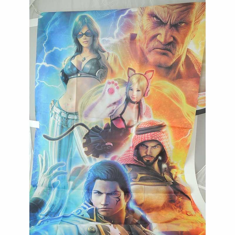 Tekken 7 commercial fabric poster