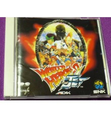 World Heroes 2 Jet Original Soundtrack Neogeo SNK CD JAPAN