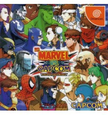 Marvel vs Capcom Clash of Super Heroes Dreamcast