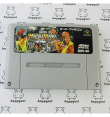 WWF Super Wrestle Mania (loose) Super Famicom
