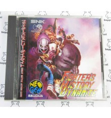 Fighters History Dynamite Neo Geo CD
