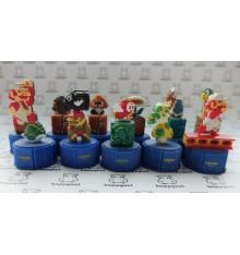 Mario Pixel Bottle caps set of 11 figures