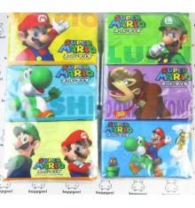 Super Mario Tissue Paper - set of 6 packs