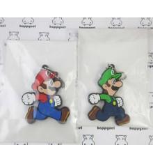 Mario & Luigi set of 2 key holders
